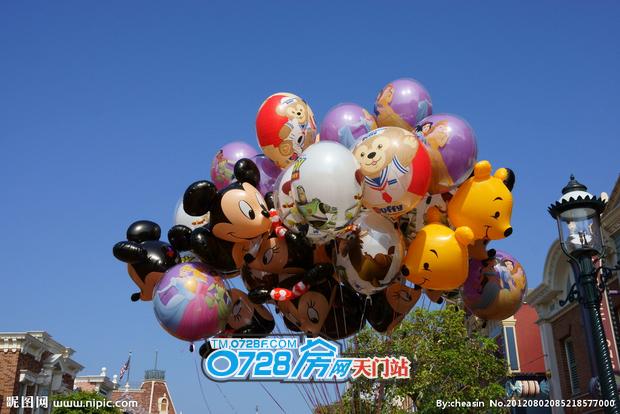 迪士尼气球