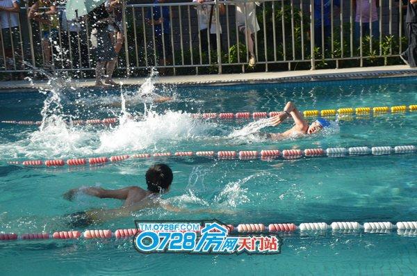 少年组中这位小选手50米仅用了39秒简直是后生可畏