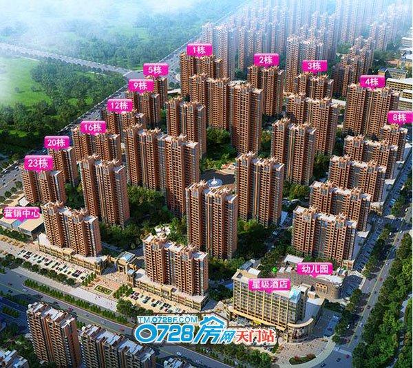 汉旺世纪城效果图