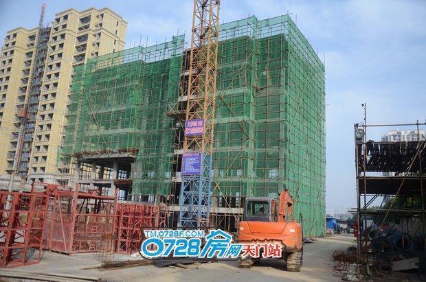 6#楼已建至8层