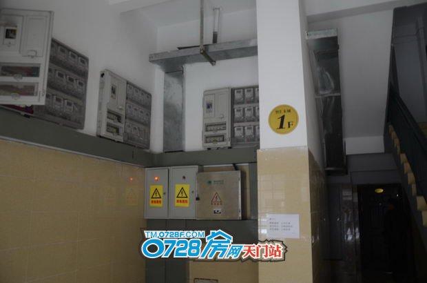 5#楼电表箱安装完毕