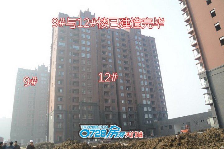 9#与12#楼已建造完毕
