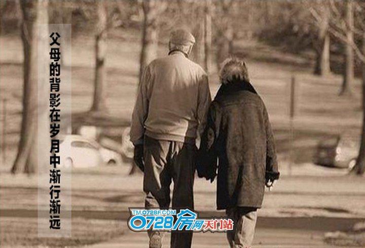 父母的背影在岁月中渐行渐远,亲情弥足珍贵,且行且珍惜