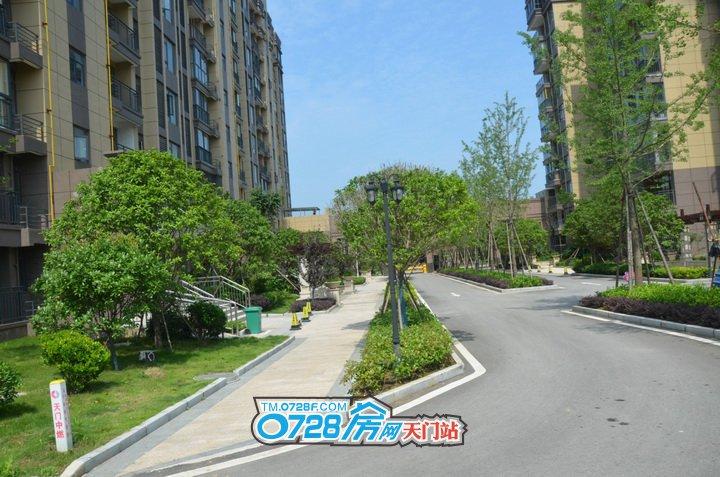 环境宜人,安静舒适的智汇东城实景图