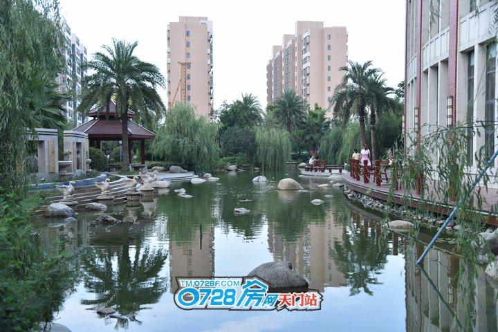 华茂阳光城撷取东南亚园林的精髓,并结合天门气候和人文具点