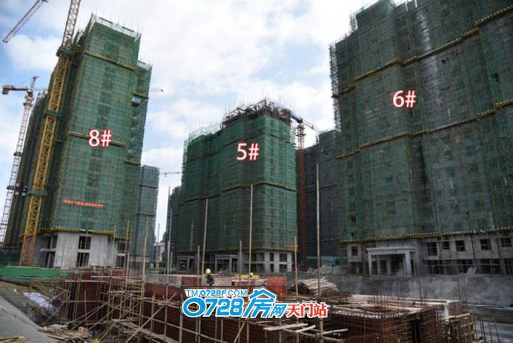 5号楼正在建第16层