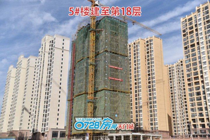 5#楼建至第18层