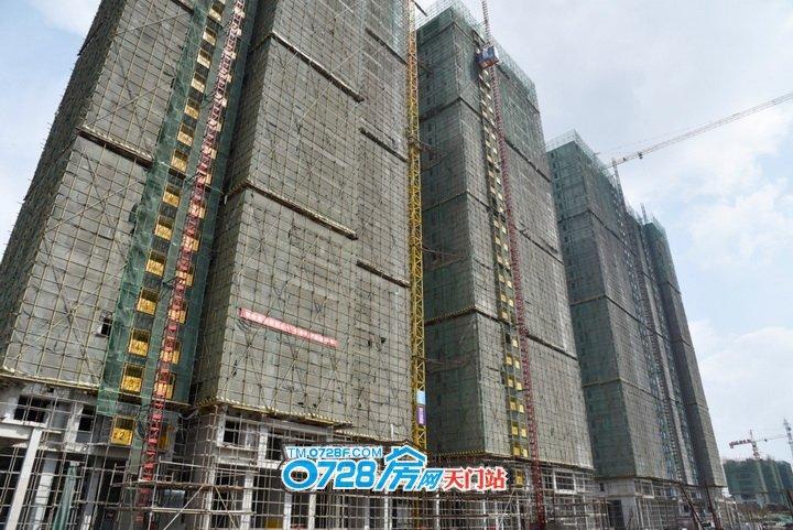 2期1-4号楼正在做内部工程