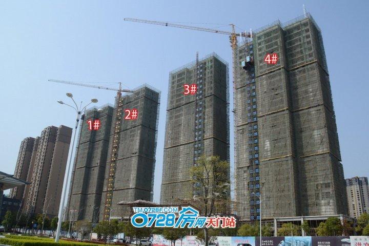 二期1、2、3、4号楼已经封顶