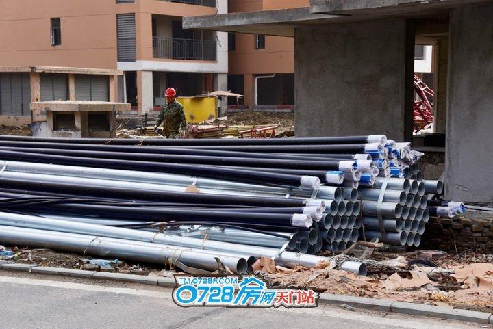 即将开始安装的水管